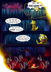 .: SwapOut : UT Comic [4-11] :. by ZKCats