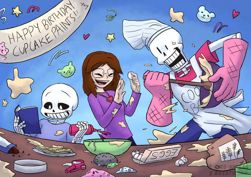 .: Happy Birthday Cupcake! :.