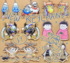 .: New Keychains! :.