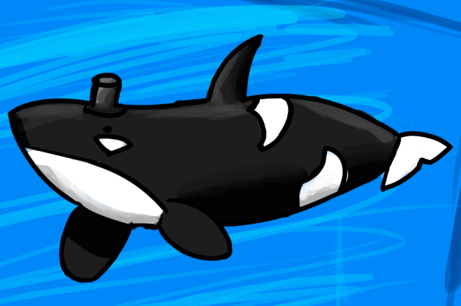 Killer Whale by Geobion