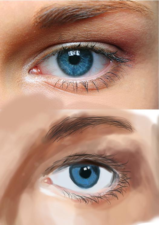 Eye Study by Geobion