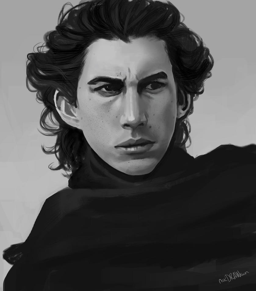 May the 4th be with you: Kylo Ren by nikdrawson