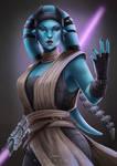 Commission: Twi lek Jedi