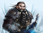 Commission: Frost Dwarf