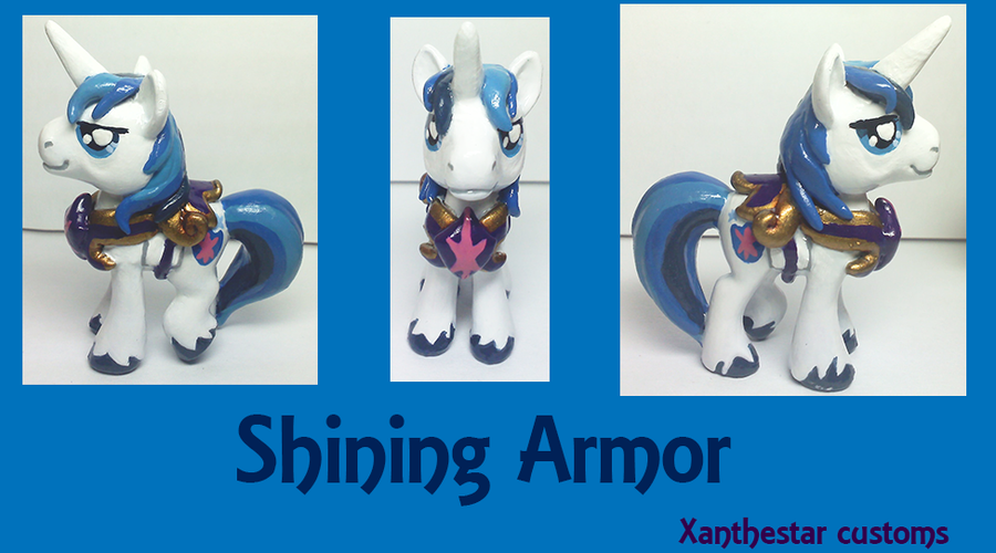 Shining Armor Custom Blindbag by XantheStar