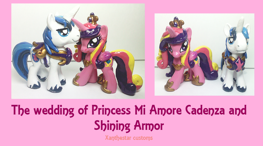 Royal Wedding Cadence and Shining Armor Customs by XantheStar on ...