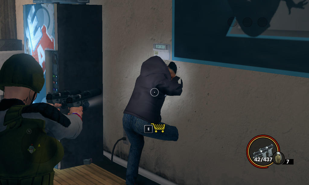 Playing in Saints Row The Third: Umm... by MrMixser