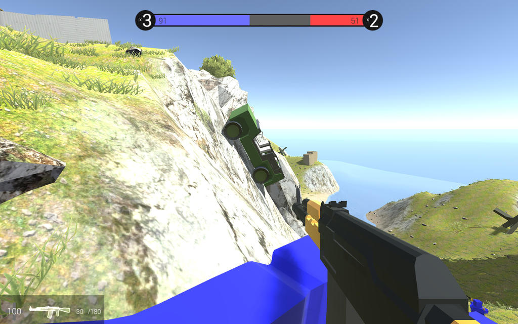 Playing in Ravenfield(Beta 5): Screw gravity by MrMixser