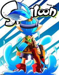 Splatoon - Thank you! by Kaleido-Art