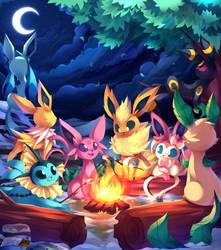 Campfire by Kaleido-Art