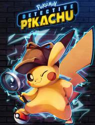Detective Pikachu by Kaleido-Art