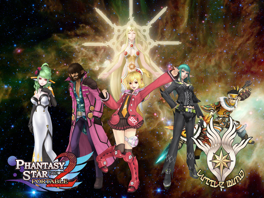 Phantasy Star Online 2 Wallpaper: Phantasy Star Portable 2 WP By Kojikatsuya On DeviantArt