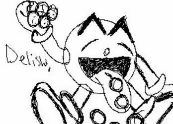 Pac Man Munching Waka Waka by Sammy96Garcia