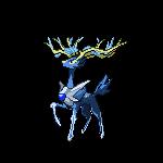 Xerneas/Dialga Fusion by LaurynRose12