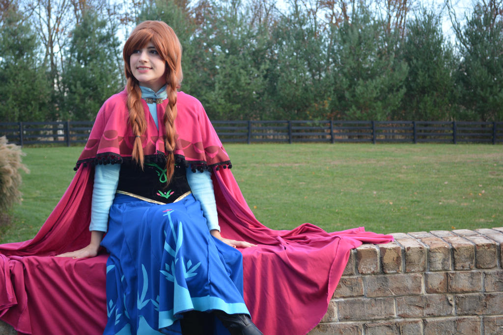 princess anna-frozen by Iris-Iridescence