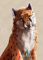 cheetah by Kezzai