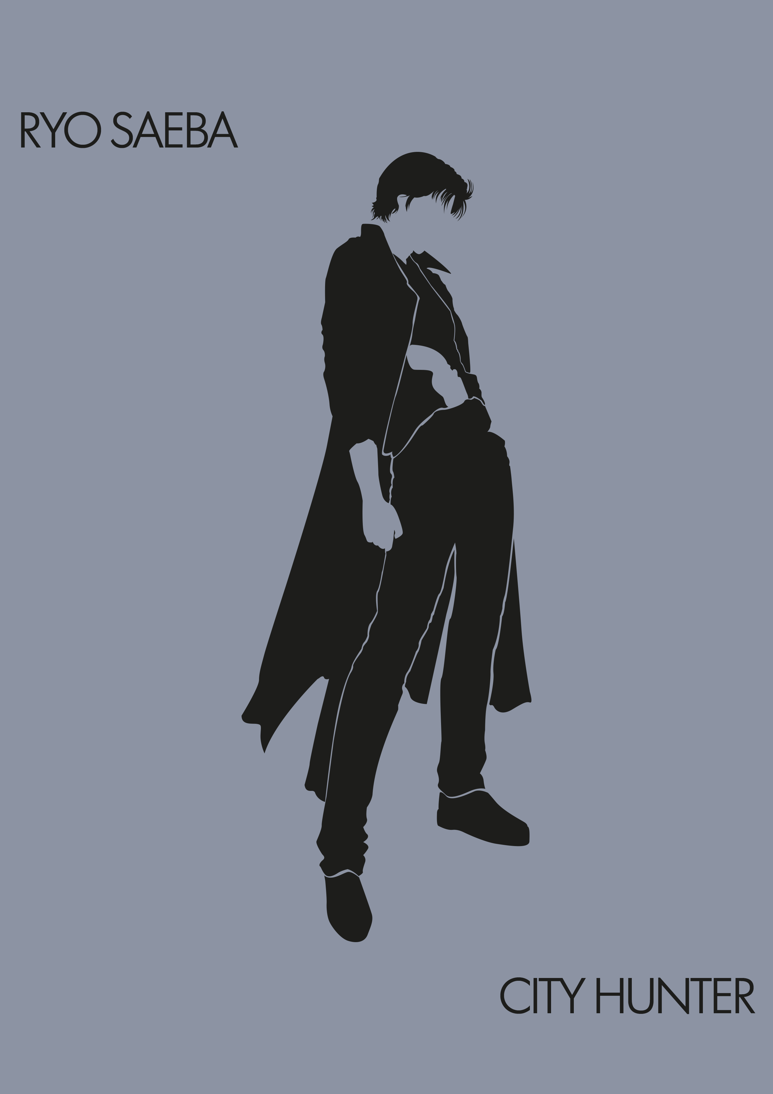 Ryo Saeba - City Hunter by lestath87 on DeviantArt