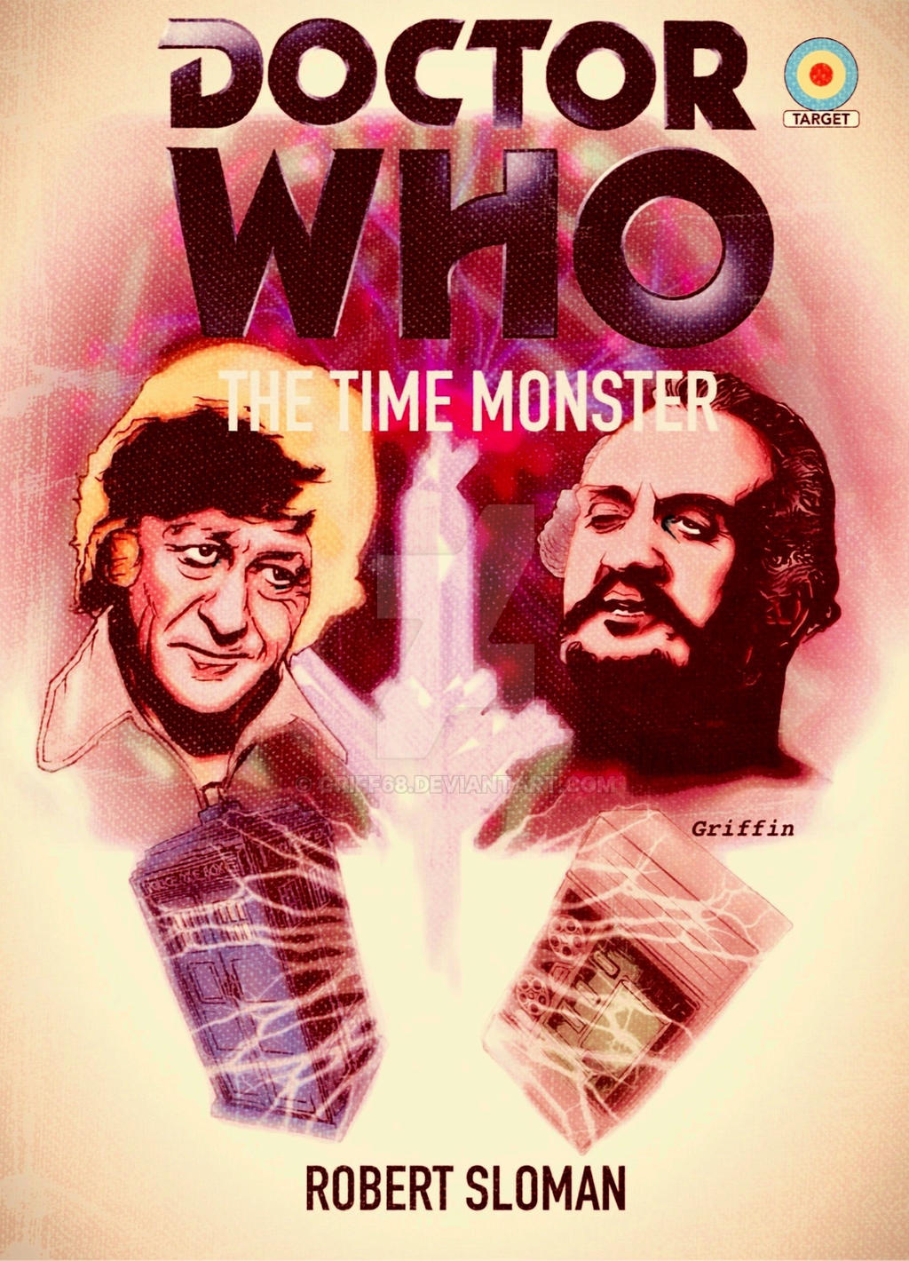 DOCTOR WHO: THE TIME MONSTER MOCK TARGET BOOK by griff68 on DeviantArt