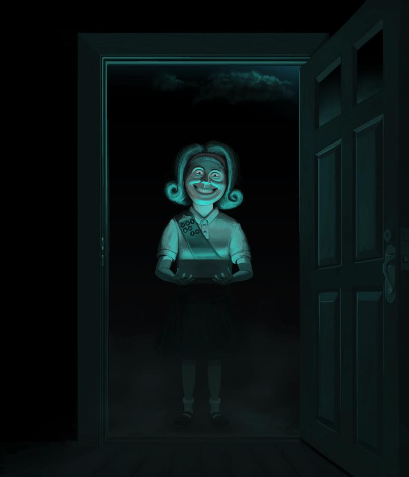 Girl Scout by GRUESUMM