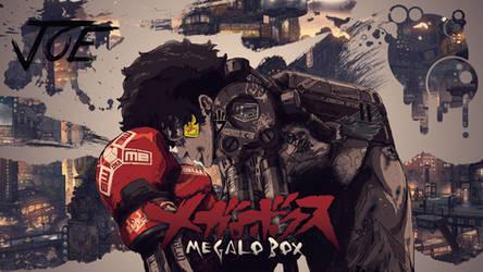 Megalo Box - Anime Wallpaper by morgy902