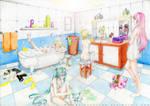 Vocaloid Bathroom