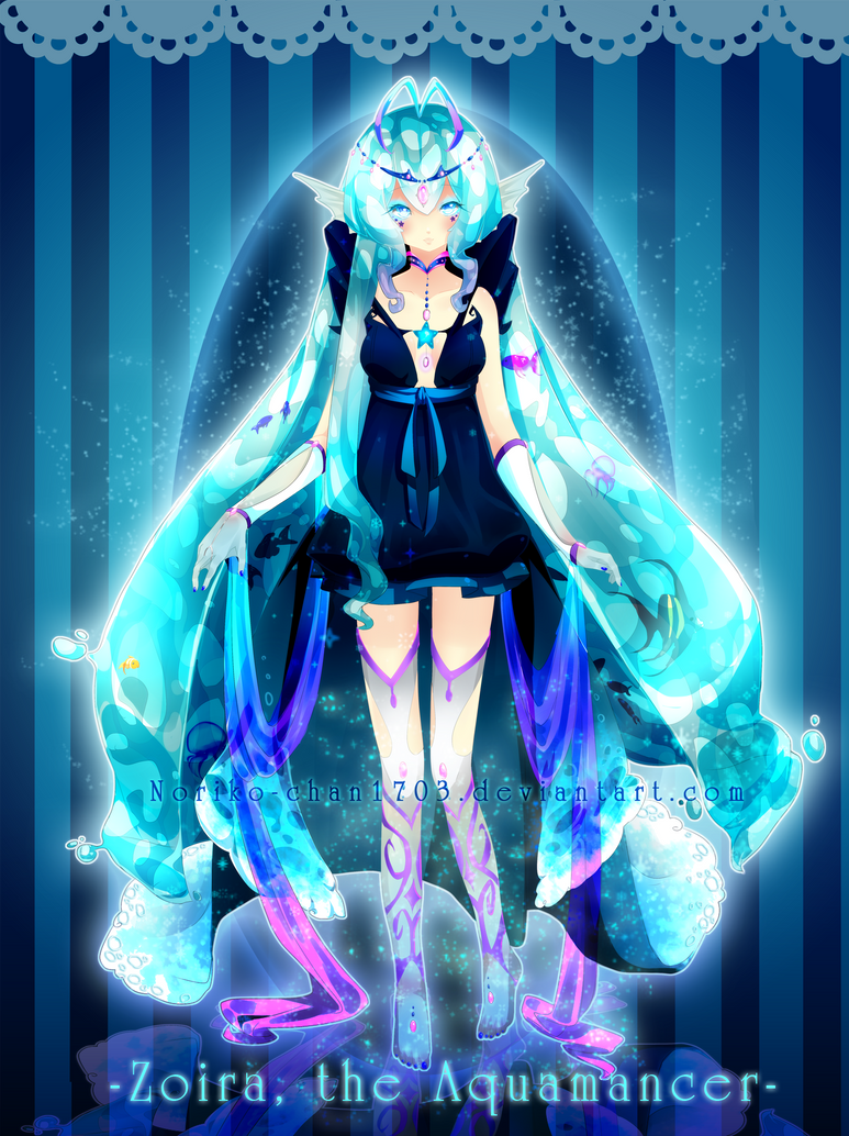 .:Adoptable:. -Zoira, the Aquamancer- CLOSED by Noririn-Hayashi