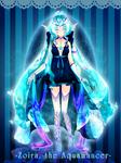 .:Adoptable:. -Zoira, the Aquamancer- CLOSED