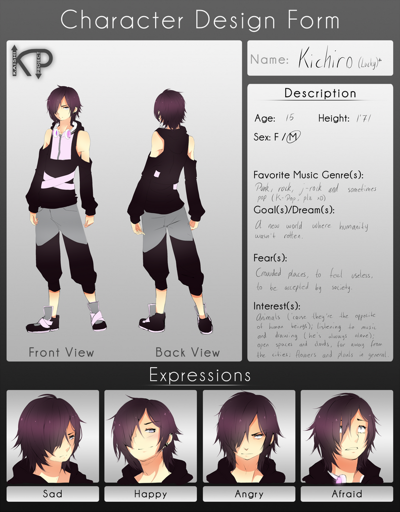D Artiste Character Design Download : Kaishi project character design kichiro by noririn