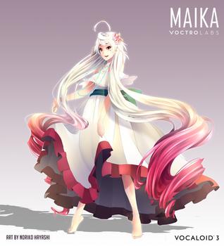 VOCALOID3 MAIKA Beach Dress Version by Noririn-Hayashi