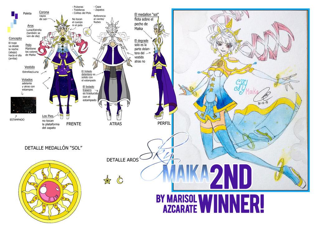 Maika Second Winner by Noririn-Hayashi