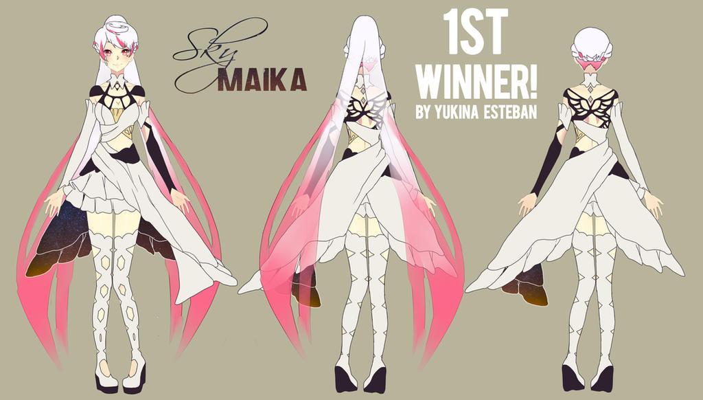 Maika First Winner by Noririn-Hayashi