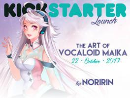 KICKSTARTER Launch: The Art of VOCALOID MAIKA
