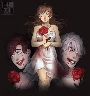 [Takeru] Vampire Rose REDRAW +SPEEDPAINT
