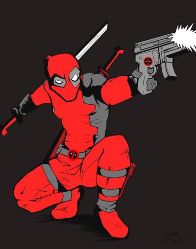 Deadpool! by IliPena