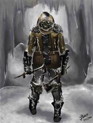 Dead Space 3 necromorph by IliPena