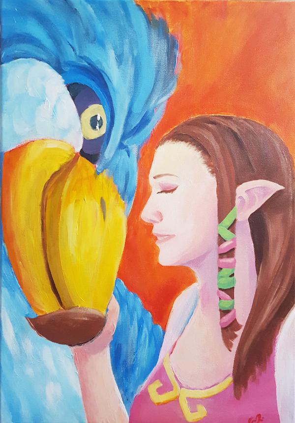 Helen as Zelda by CindyTrieu