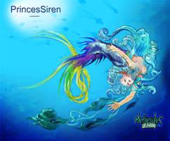 princessiren - colour by PeGGO