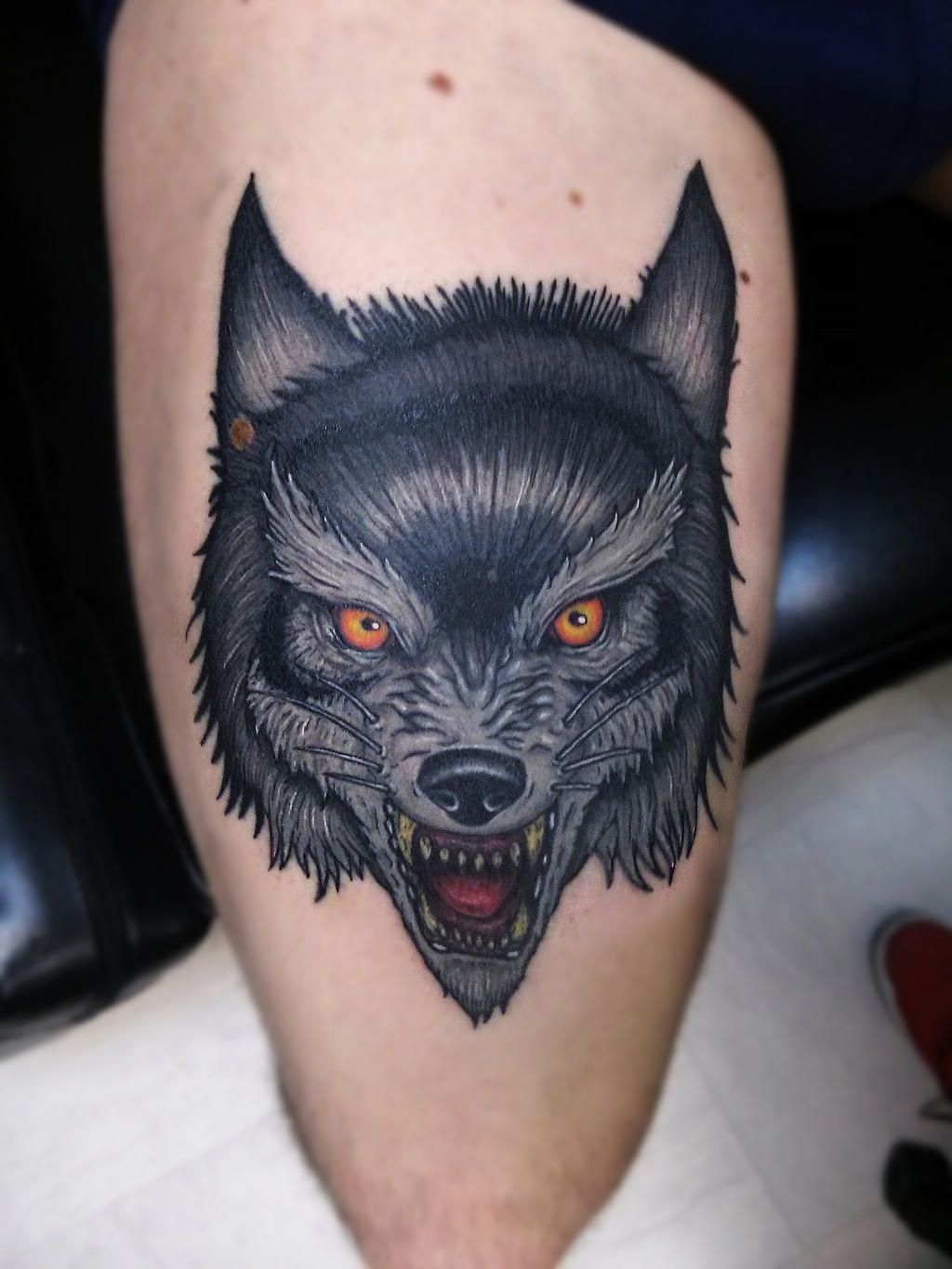 Traditional wolf tattoo meaning