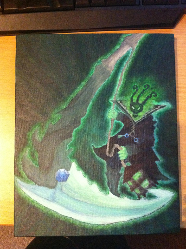 Thresh Painting by Mercyfire94