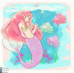 Mermaid by Sakurawings1