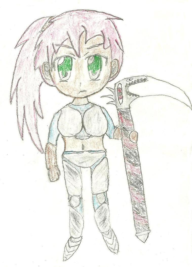 chibi drawing 21 by JofDragon