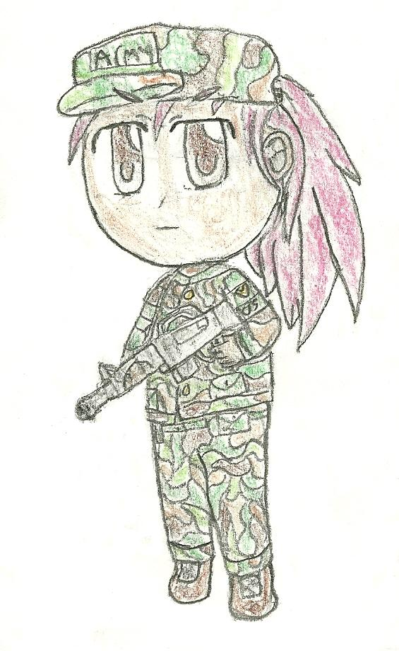 chibi drawing 24 by JofDragon