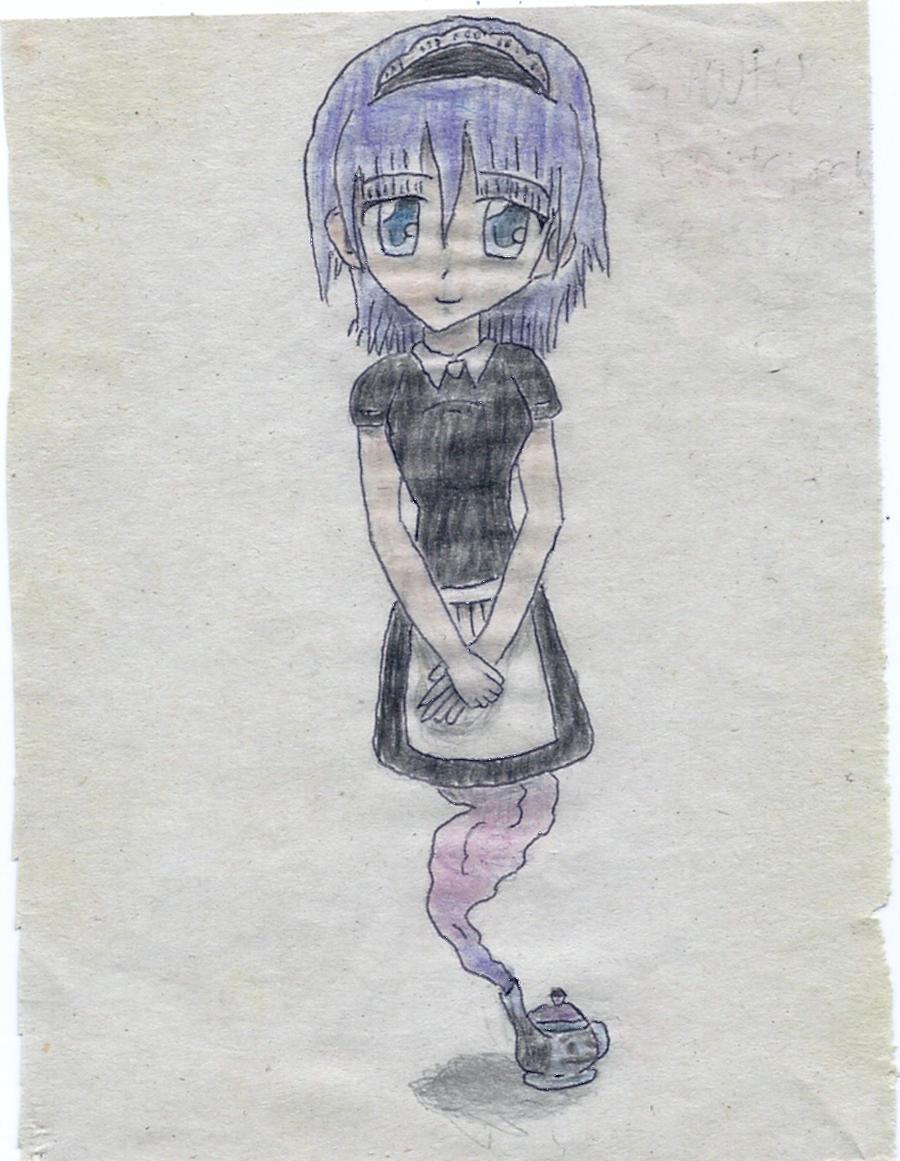 genie maid by JofDragon