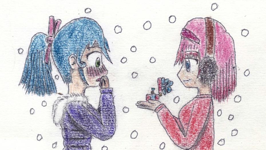 a christmas gift by JofDragon