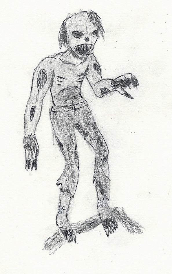 zombie by JofDragon