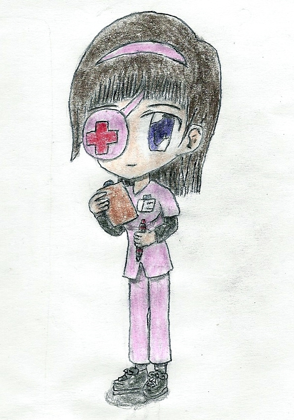 chibi nurse by JofDragon