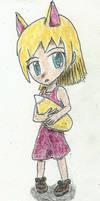 oc: sakura was a little girl by JofDragon