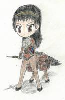 chibi centaur by JofDragon