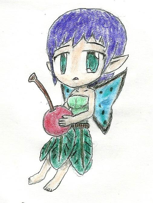 chibi fairy by JofDragon