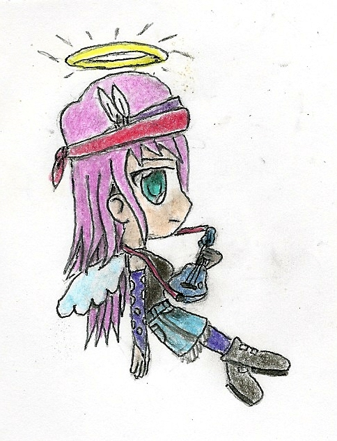 chibi angel by JofDragon